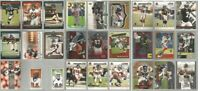 Atlanta Falcons 27 card 2001-2003 insert lot-all different