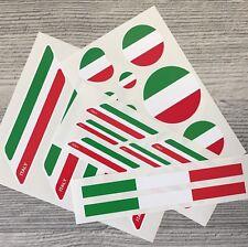 Italian Italy Flag vinyl stickers