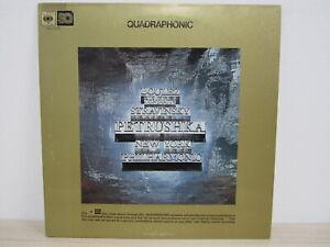 LP / Boulez Conducts Stravinsky, New York Philharmonic – Petrushka-Quadraphonic