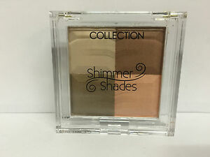 3 x Collection 2000 Shimmer Shades WAY TO GO Blush, Shimmering Cheek Colour