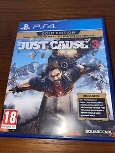 Just Cause 3 Gold Edition PS4 Playstation 4 Game