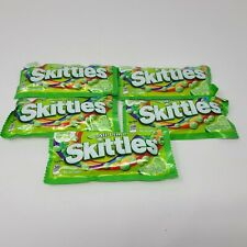 All Lime Skittles Limited Edition. 1.76 OZ (5 Packs) - Free Shipping in USA