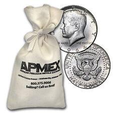 90% Silver Kennedy Half-Dollars $50 Face-Value Bag (1964) - SKU #88198