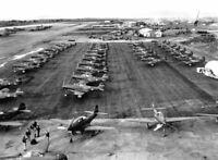 "WWII photo American fighters R-39 ""Air Cobra"" based on Ladd Field, Alaska 631"