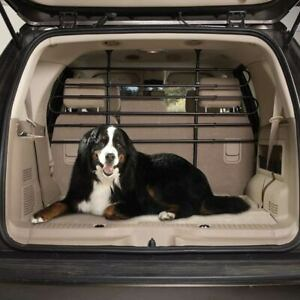 Vehicle Barrier Pet Travel Cargo Area Containment Tubular Steel Adjustable Frame