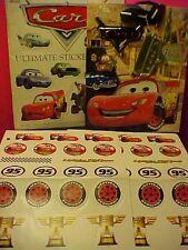 Vintage Disney Pixar Cars Ultimate Sticker Book and Gift Bag