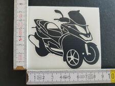 Quadro QV3, Folienplott Aufkleber Sticker, Schwarz