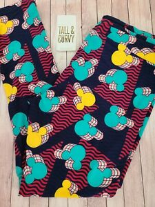 NEW LuLaRoe TC Disney Leggings Geometric Mickey Mouse