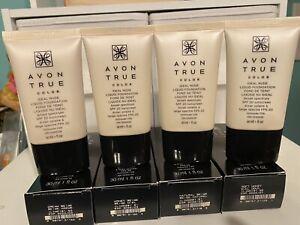 Avon True Color Ideal Nude Liquid Foundation ~ Soft Honey  Lot of 3