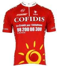 Cofidis 2008 Nalini - Kurzarmtrikot mit kurzem Reißverschluss