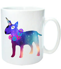 "Bull Terrier Mug ""Unibullie"" Dog Mugs English Bull Terrier Unicorn Xmas gift"