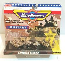 1991 Micro Machines 7000 Military Collection ARMORED ASSAULT #5 Galoob