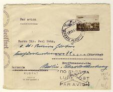 BULGARIEN - LUFTPOSTBRIEF 1941 nach DEUTSCHLAND - ZENSIERT (28)