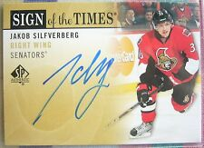 Rookie AUTO Jakob Silfverberg 2012-13 SP Authentic Autograph SOTT Ducks NEW Star