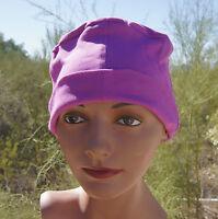 ADULT SIZE 100% cotton PINK sleeping night Cap mens women UNISEX nightcap USA