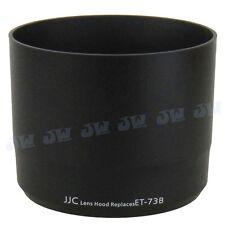 JJC Lens Hood Shade for CANON EF 70-300MM F/4-5.6L IS USM Lens as ET-73B BLACK