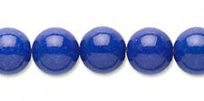 Blue Mountain Jade Gemstone Round Beads 10MM