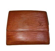 Louis Vuitton Wallet Trifold Men Leather Monogram