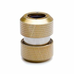 PrimoChill 1/2in. Rigid RevolverSX Series Coupler Fitting - Candy Gold