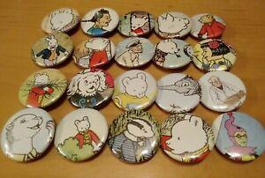 Rupert The Bear Badges