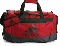 Adidas Defender III Medium Red Gym Duffel Bag B1133