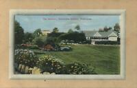VINTAGE THE GARDENS, ALEXANDRA AVEUNE, MELBOURNE POSTCARD - UNUSED
