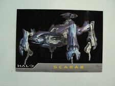 SDCC Promo Trading Card Halo P1 & P2 Set The Master Chief Scarab New 2007 xbox