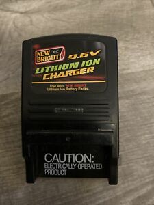 New Bright R/C 9.6V Charger Lithium-Ion 9.6V Remote Control Battery Charger EUC