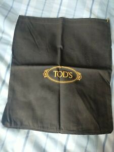 Tod's Brown Draw String Dust Bag 38x32cm