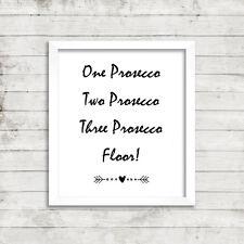 Prosecco Life Ispirazione Citazione motivazionale stampa foto cartolina card 11