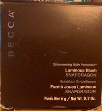 Becca Luminous Blush Snapdragon 0.2 oz New free shipping