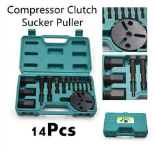 14Pc R134a AC Compressor Clutch Remover Puller Installer Air Conditioning Clutch