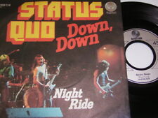 "Status Quo Down Down & Night Ride (1974 German 7"") 6350"