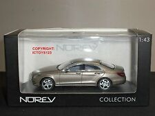NOREV 351300 MERCEDES BENZ CLS 350 CGI GREY DIECAST MODEL CAR
