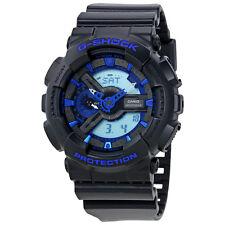 Casio G-Shock Black and Blue Mens Watch GA110CB-1ACR