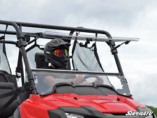 Super ATV Full Tilting Front Windshield Honda Pioneer 700 700-4 2014-2016 Flip