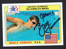 Bruce Furniss #89 signed autograph auto 1983 Topps Greatest Olympians Card