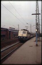 35mm slide+© DB Detusche Bundesbahn 111 101-2 Mülheim West-Germany 1983 original