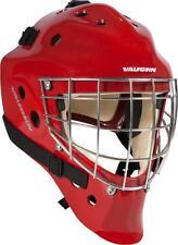 New Vaughn 7700 SB Goal goalie helmet red senior large Sr ice hockey face mask