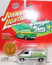 JOHNNY LIGHTNING Boogie vans blister packed  Dodge custom van mint USA