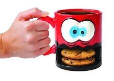 BIGMOUTH CRAZY FOR COOKIES COFFEE TEA BEVERAGE NOVELTY MUG HOLDS BISCUITS GIFT