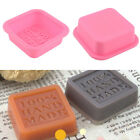 Silicone Cake Mould Tray 100% Handmade Soap Mold Sugercraft Craft DIY