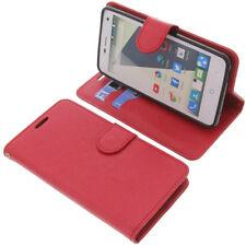 Funda para ZTE Blade L3 Book Style protectora Teléfono móvil estilo libro rojo