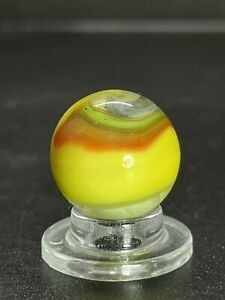 Akro Popeye Corkscrew Marble Akro Hybrid Multi Color Marble Vintage Marble 0.629