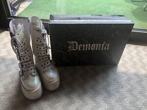 demonia boots Damen 39 Pearl