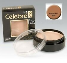 Celebre HD Pro ~ Mehron Quality Foundation Cream Theatrical Makeup Medium Dark 4