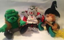 Meanies Grisly Grizzlies 99 Set Of 3