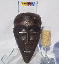 authentic tribal African Art - Chokwe Ancestral Mask Figure Sculpture Statue