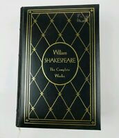 The Complete Works Of William Shakespeare Leatherbound Gramercy Books HC 1975 G1