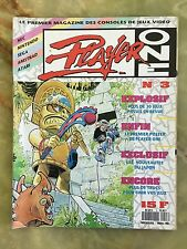 PLAYER ONE 3 11/90 MAGAZINE DE JEUX VIDEO NINTENDO SEGA XBOX PLAYSTATION